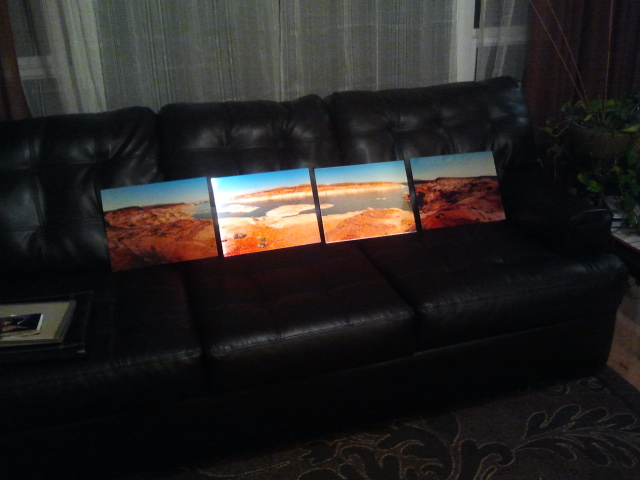 Lake Powell Pano, Metal Print