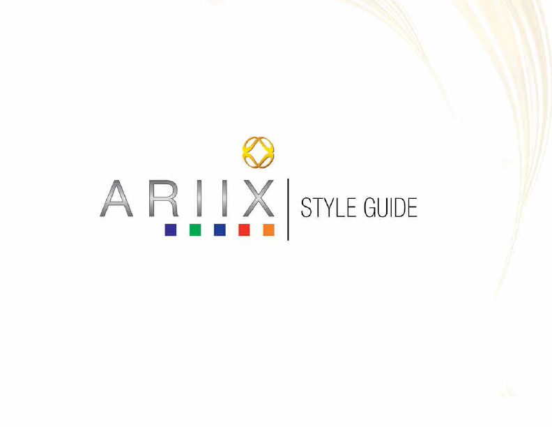 Ariix, Standards Guide