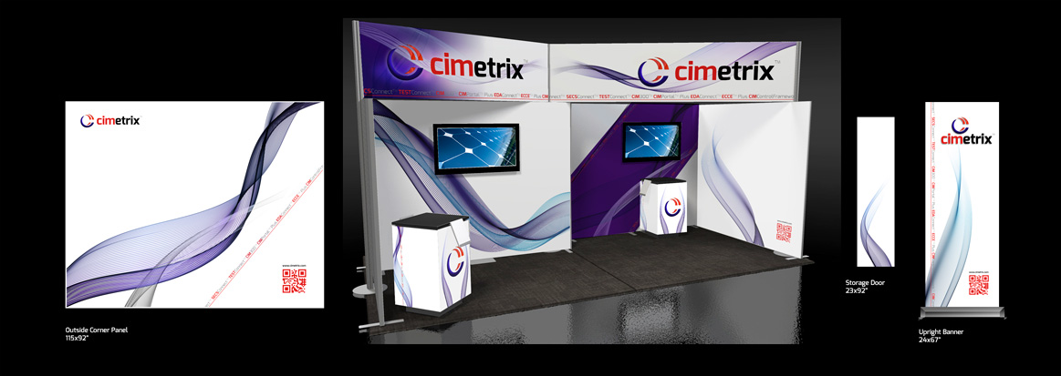 Cimetrix, Tradeshow Booth