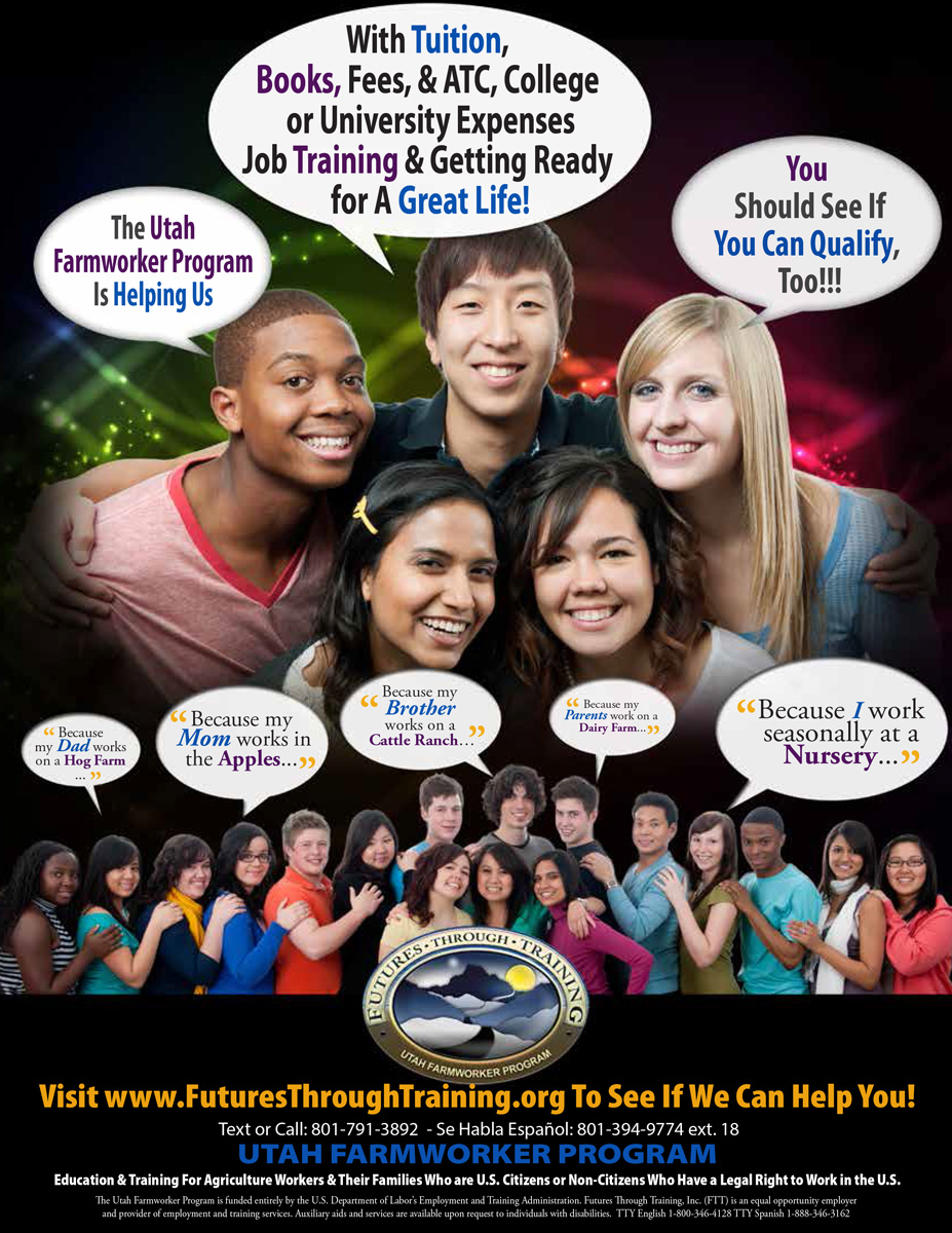 College Campus Flyer
