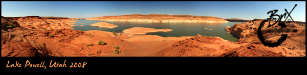 Lake Powell Pano